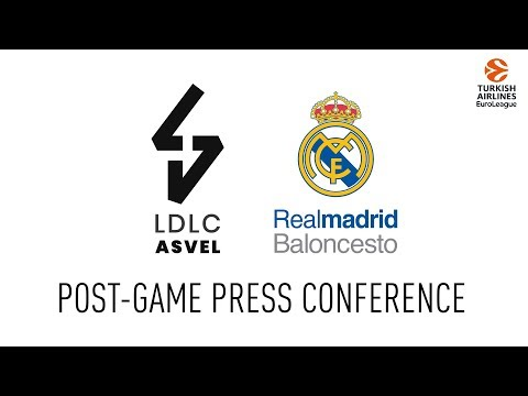 Post-game press conference - LDLC ASVEL / Real Madrid