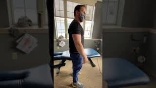 Modified planks for posture and scapular support