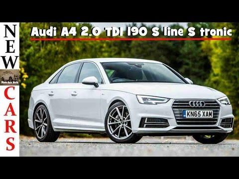2017 audi a4 2 0 tdi s line youtube. Black Bedroom Furniture Sets. Home Design Ideas
