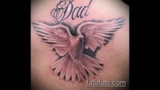 фото тату голубь - информация и рисунки для тату