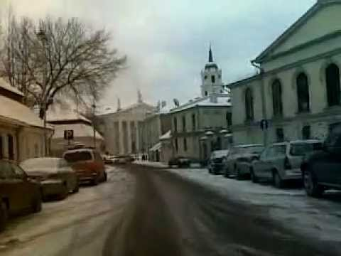 Weather in Vilnius, Lithuania, daytime 2010-01-26