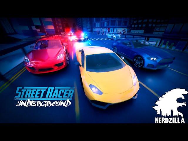 Street Racer Underground Review Stream with N3RDZILLA GAMING