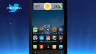 Go Launcher Ex Android Theme For Blackberry 10.2.1