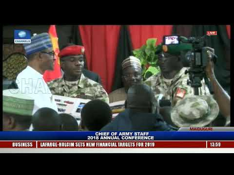 Chief Of Army Staff 2018 Annual Conference Holds In Maiduguri Pt.5 |Live Event|