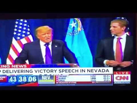 Donald Trump Nevada Caucus Victory Speech V1