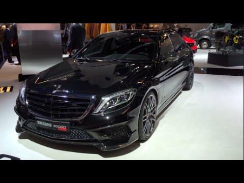 Mercedes Benz S Cl Brabus Rocket 900 2016 In Detail Review Walkaround Interior Exterior You