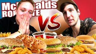 McDonalds ROULETTE MEGA CHALLENGE! +BESTRAFUNG