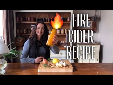 Fire Cider - A Natural Cold and Flu Tonic & Immune Booster