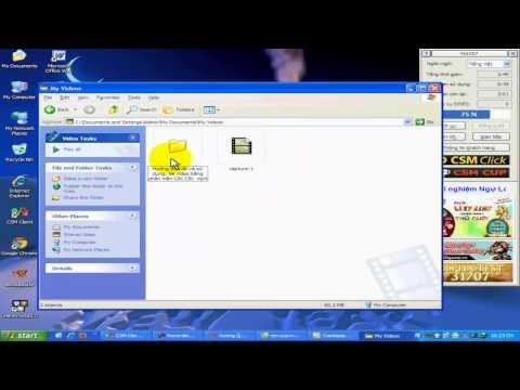 Hướng dẫn cách chuyển đuôi khi quay màn hình với phần mềm Camtasia 7.1 up video lên Youtube