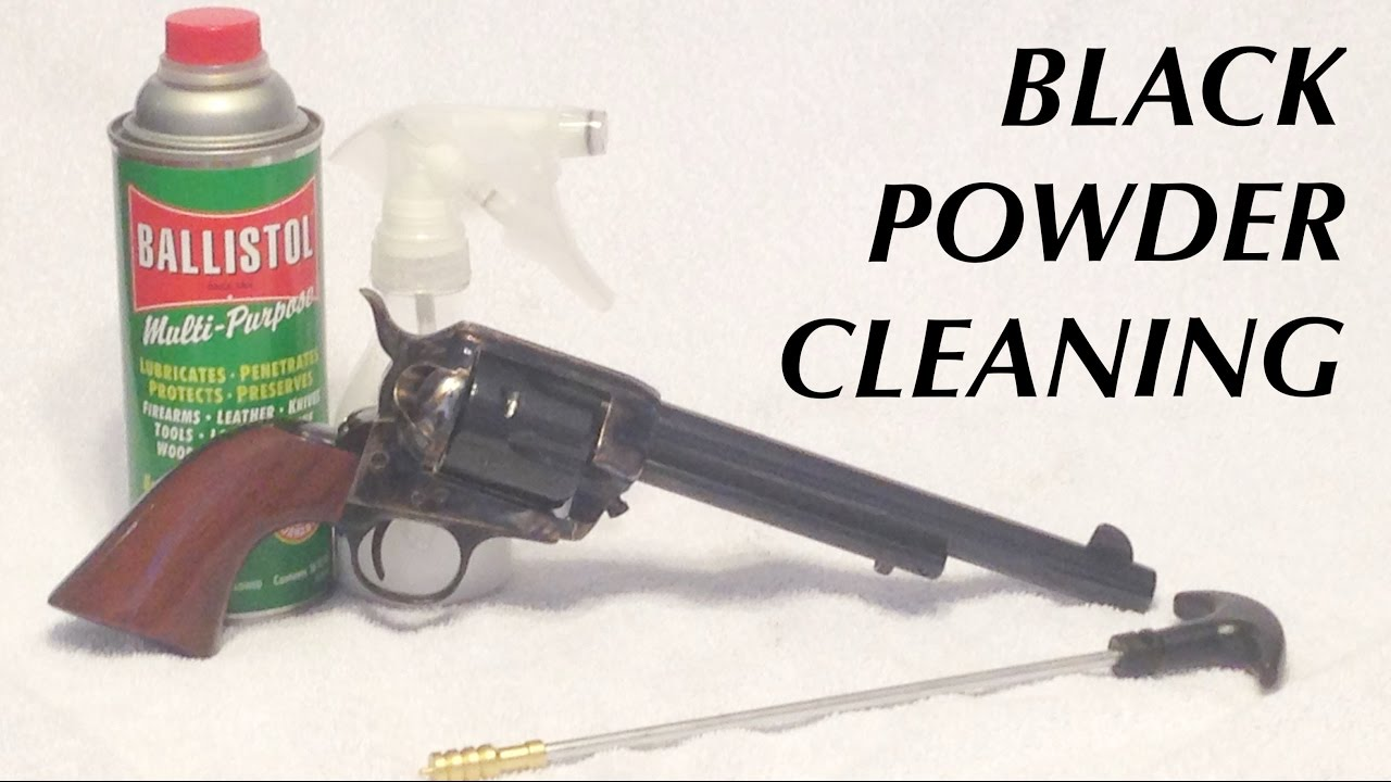 Black Powder Cleaning