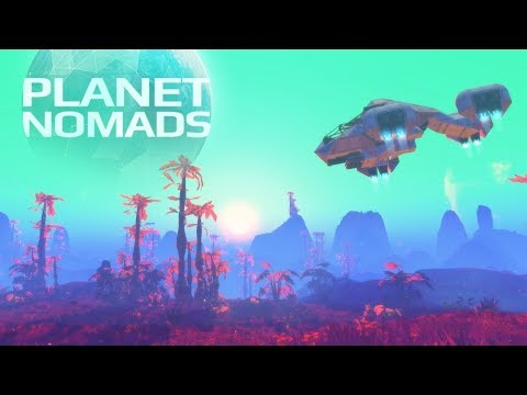 Planet Nomads Gameplay - Terraforming Survival Building Sandbox Sim!