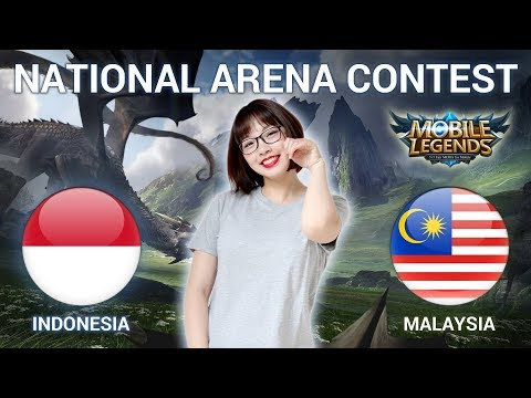 INDONESIA VS MALAYSIA - National Arena Contest Cast by Kimi Hime - 28/04/2018