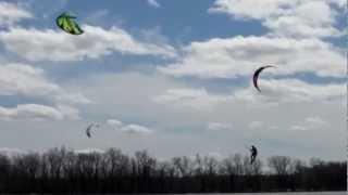 L'Anse a l'Orme le 17 Avril 2012 (kitesurf)