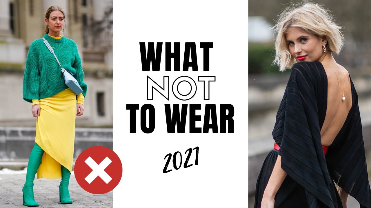 What Not To Wear In 8  Fashion Trends To Avoid