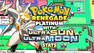 Pokemon Renegade Platinum - New Completed NDS Rom With Ultra Sun & Moon Stats,New Plots and Shinies!