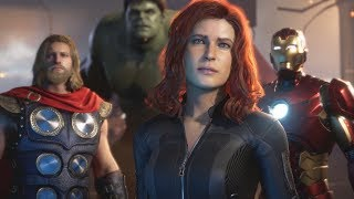 MARVEL'S AVENGERS GAME TRAILER REACTION (The Avengers Project)