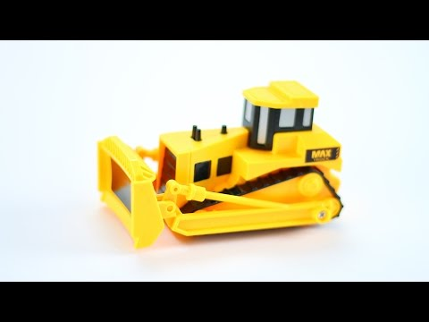 Bulldozer Toy for kids - to learn construction vehicles ys for kids videos