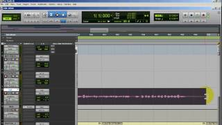 Recording levels in pro tools