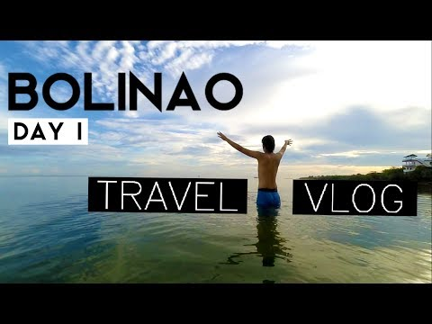 Travel Vlog | Bolinao, Pangasinan | Day 1