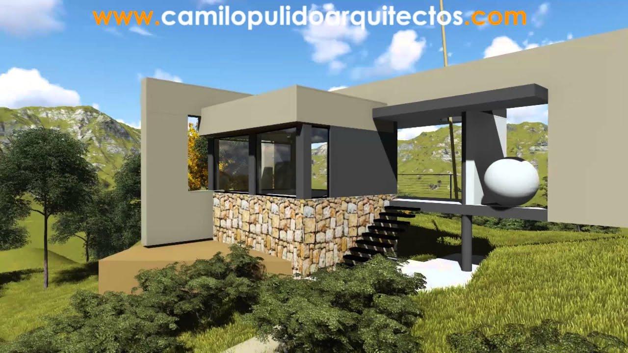 Casa de campo moderna casa de piedra youtube for Casas modernas revestidas en piedra