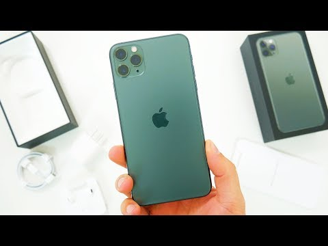 IPhone 11 Pro Max Unboxing & First Impressions! New Midnight Green