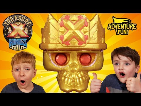 "Treasure X Kings Gold ""Tomb"" Season 3 Adventure Fun Toy Review!"