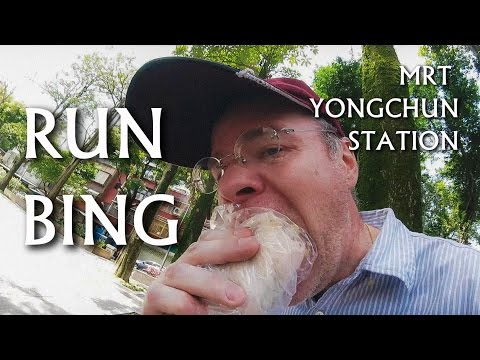 {Food & Drink} Taiwan Travel -- RUNBING close to Yongchun Station (永春站附近潤餅)