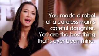 Glee - Mine (Lyrics)