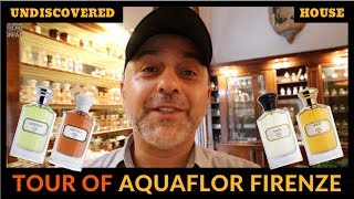 AquaFlor Firenze Perfumery Tour | Undiscovered Niche Perfume House Aquaflor In Florence, Italy