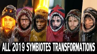 All 2019 JMMates Symbiotes Transformations #1 (We are VENOM) Which is the Best?