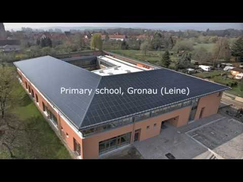 Building Integrated Photovoltaic (BIPV) System, Gronau, Germany
