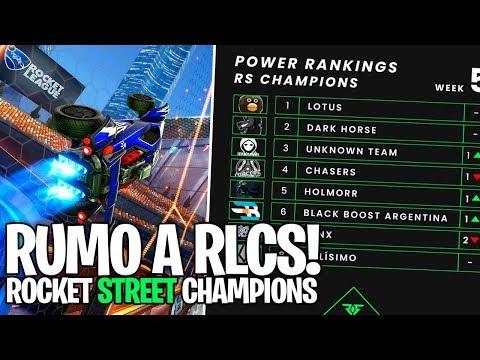 AMÉRICA DO SUL RUMO A RLCS?! GRANDE PROJETO ROCKET STREET! VAMOS AJUDAR! - Rocket League
