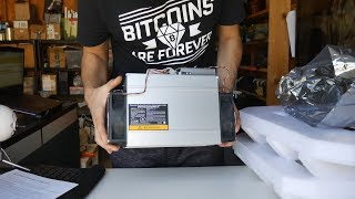 Bitmain Antminer DR3 Decred Miner - Unbox, Review and Profits