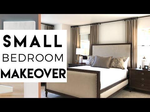 Small Bedroom Makeover | Small Apartment | Interior Design