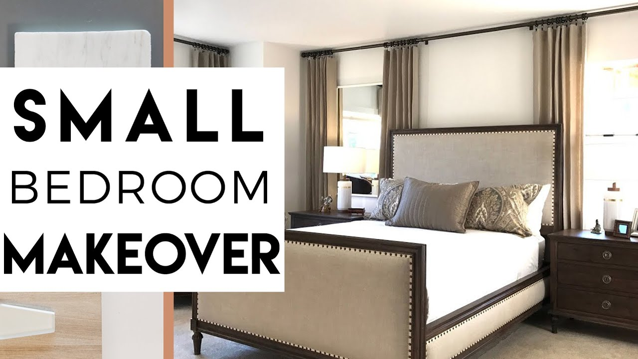 Robeson Design Small Bedroom Makeover | Small Apartment | Interior Design