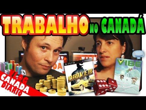 TRABALHO NO CANADÁ - Arte, Design, Animação, Games, CGI, TI, Criação Visual, etc