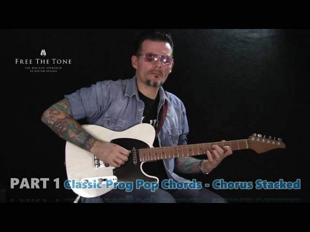 Sweet Chorus Tones! Free The Tone TA-1H Tri-Avatar Chorus - Rodney Gene Junior
