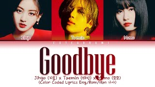 Download Taemin (태민) x TWICE (Jihyo(지효),Momo(모모)) - Goodbye  (Color Coded Lyrics Eng/Rom/Han 가사)