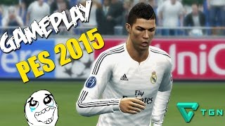 PES 2015 GAMEPLAY | PC 1080p | 60 FPS!