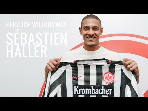 Herzlich Willkommen Sébastien Haller   Eintracht-Neuzugang