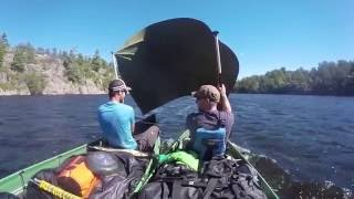 2016 - Key River - Catamaran-Canoe Sailing - Ontario - Canada