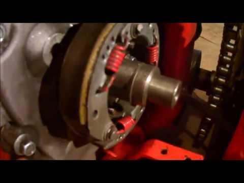 Центробежное сцепление для двигателя лифан 168