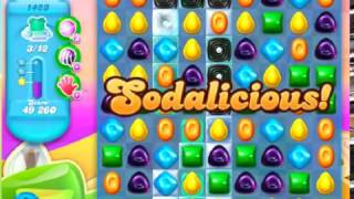 Candy Crush Soda Saga Level 1423 - NO BOOSTERS **