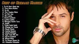 BEST OF EMRAAN HASHMI SONGS ♫ Top 20 Songs of Emraan Hashmi ♫ Bollywood Superhit Songs