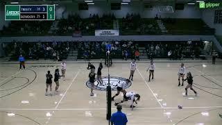 Trinity Volleyball at Bowdoin ~ 11/2/18 (NESCAC Quarterfinals)