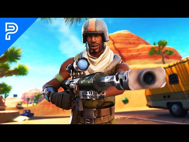 I went into duo fill with AERIAL ASSAULT TROOPER and hit a TRICKSHOT! (he FREAKED out) Standard quality (480p)