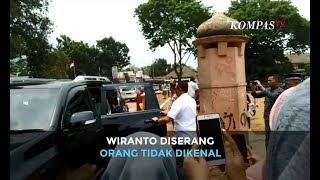 [breaking News] Detik Detik Menko Polhukam Wiranto Diserang Di Pandeglang