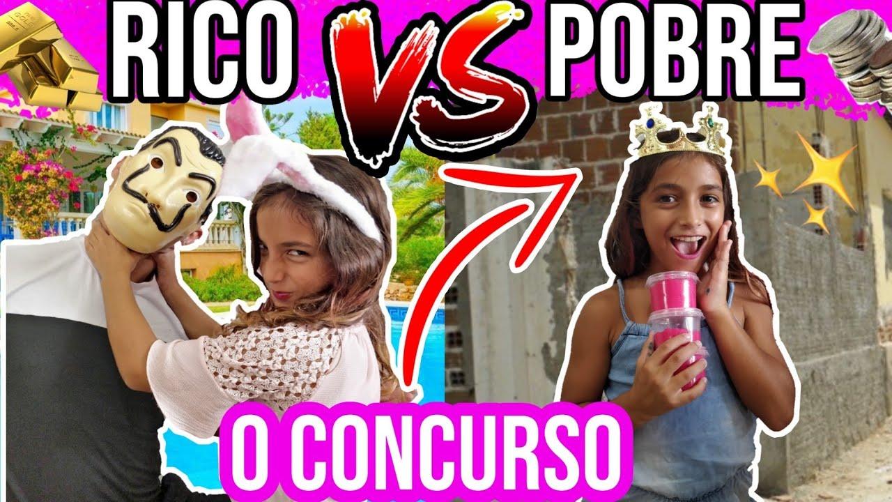 RICO VS POBRE FAZENDO AMOEBA SLIME #6