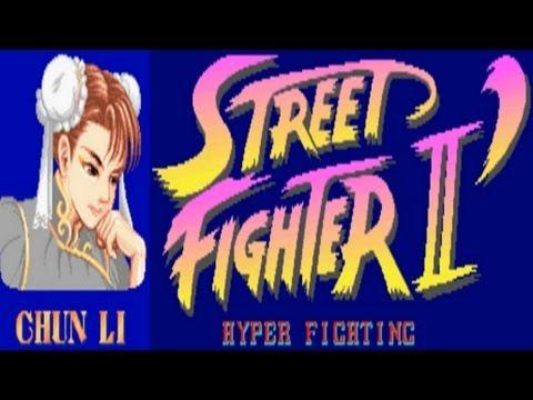 Street Fighter II - Hyper Fighting - Chun Li (Arcade)