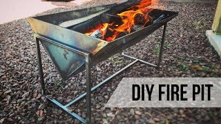 DIY Fire Pit // Welding & Metalworking